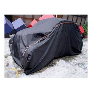 Image 2 - 2/4 أبواب UTV 210D أكسفورد القماش حماية فائدة غطاء تخزين السيارة من أشعة المطر الترابية عاكسة ل Can Am Maverick X3