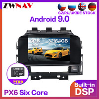4+64 Android 9.0 Car Stereo Smart Multimedia DVD Player GPS for OPEL Vauxhall Holden Astra J 2010+ radio tape recorder head unit