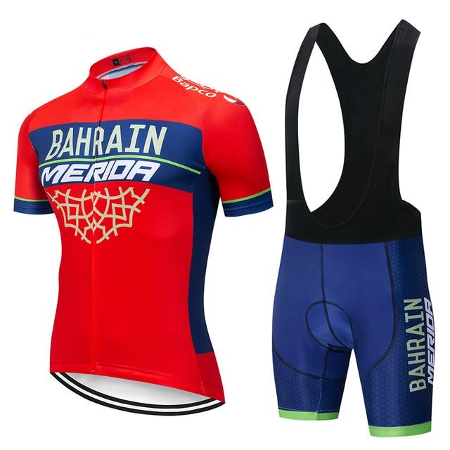 Details about  /2020 Mens Cycling Jersey Set Summer Bike Shirts Bib Shorts Suit Bicycle Uniform