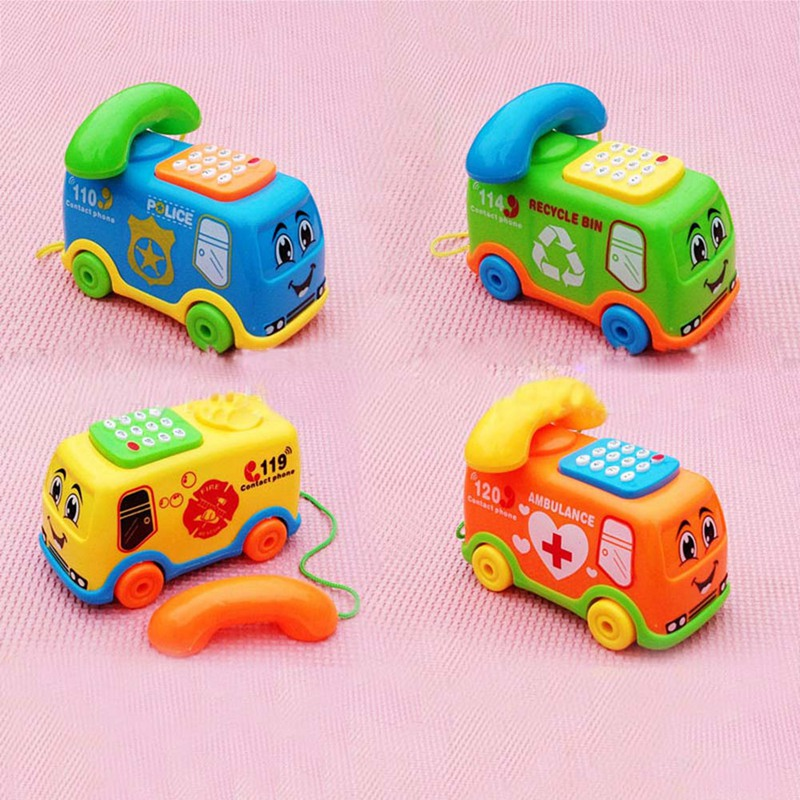 The Latest Educational Toy Which Helps Develop The Intellectual Toy Baby Intelligence Bus Phone