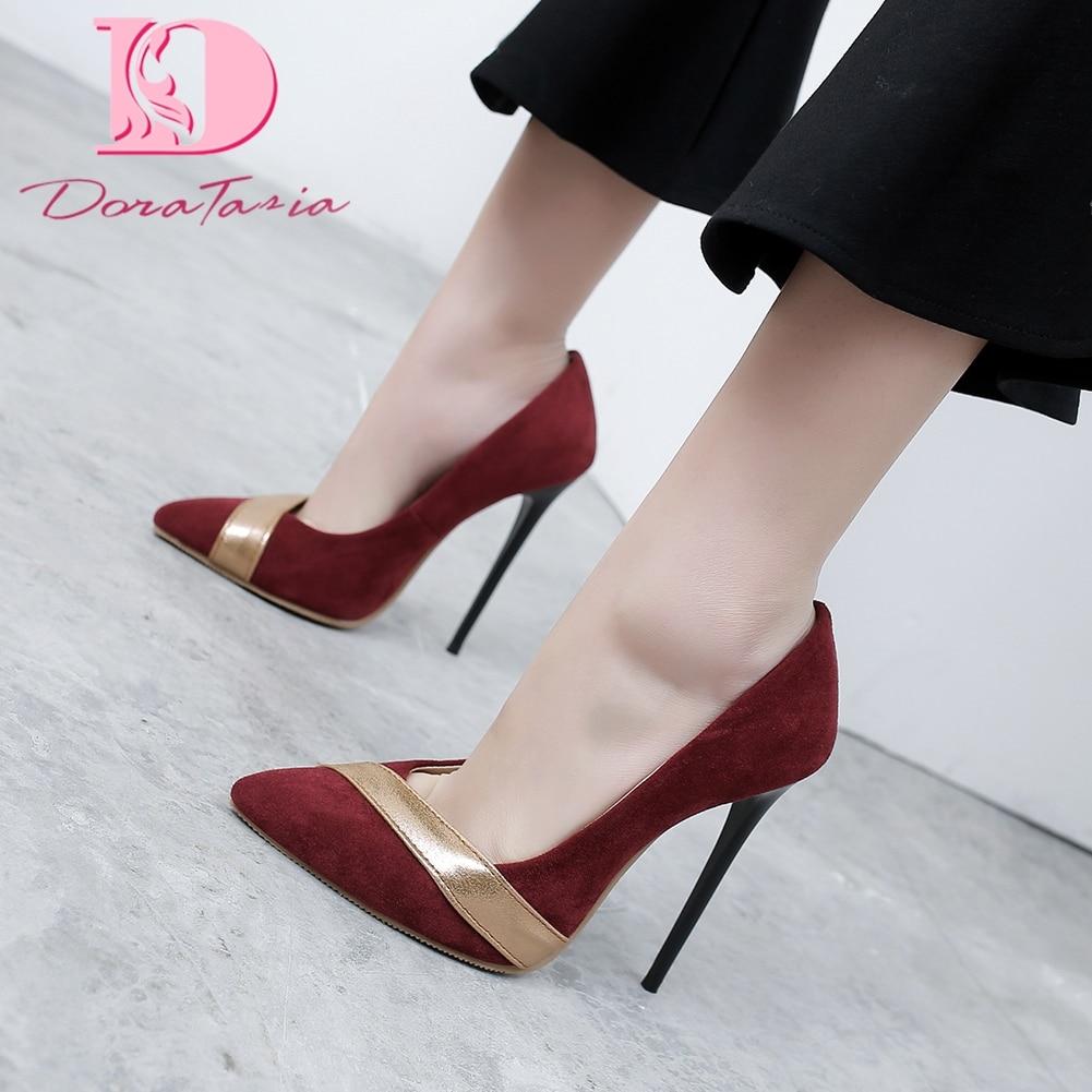 Doratasia New Fashion 2020 Plus Size 34-48 Spring/Autumn Summer Pumps Woman Shoes Super High Heels Party Pumps Women Shoes