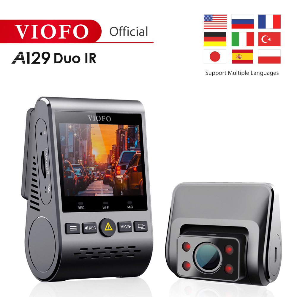 2019 NEW A129 Duo IR Front And Interior Dual Dash Cam 5GHz Wi Fi Full HD
