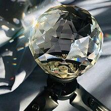 Bola mágica de cristal para fotografia, acessórios portáteis para estúdio de fotografia, bola de vidro transparente