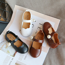 Girls Shoes Spring Autumn Children's And Pearl New-Arrival