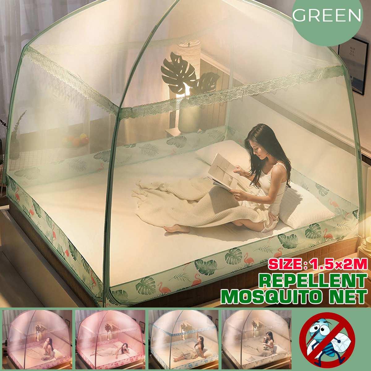 mosquiteiro para cama repelente de insetos fundo