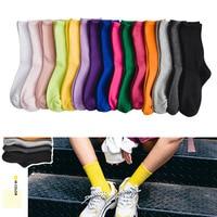12pairs Autumn And Winter New Products Gaoluokou Pile Socks Japanese Wild Tide Socks women's Socks G0829