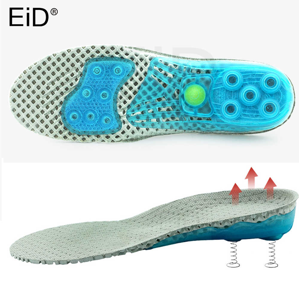EVA Spring orthopedic silicone shoes sole Insoles flat feet orthotic insoles arch support inserts Plantar Fasciitis,foot care