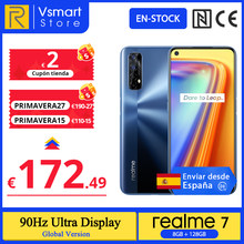 realme 7 Versión global 8GB 128GB Helio G95 6.5'' 90Hz Pantalla ultra suave 30W Carga de dardo 48MP AI Quad Camera 5000mAh Batería; code:PRIMAVERA27(€190-27);PRIMAVERA15(€110-0-15);PRIMAVERA8(€60-8);PRIMAVERA4(€25-4)