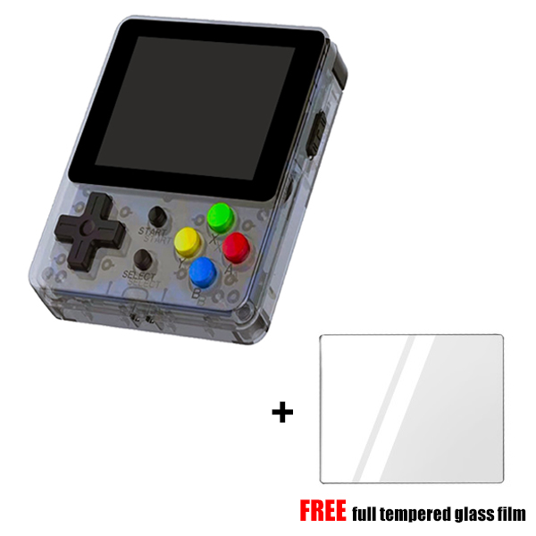 Classique rétro Console de jeu de poche LDK jeu 2.6 pouces écran nostalgique rétro jeu Mini famille TV Consoles vidéo avec film de verre