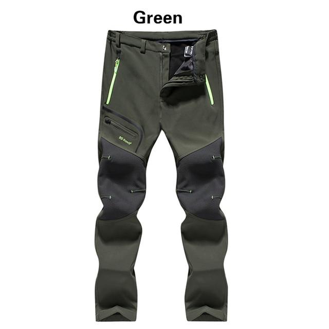 Men Winter Outdoor Pants 2020 Casual Trekking Hiking Windproof Summer Mens Trousers Warm Plus Size Camping Climb Run Male Pants 2