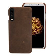 Vintage leather case For samsung Galaxy a50 a70 a30 a10 a8 a7 2018 Genuine Leather retro back cover note 10