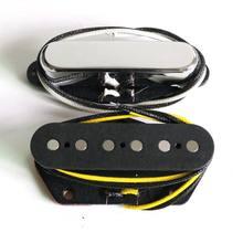 Donlis TL гитарные пикапы смешанные AlNiCo 5 и 2 стержня с плоской подошвой для шеи/моста положение гитарные аксессуары гитарные запчасти