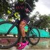 2020 feminino corrida frenesi pro equipe triathlon terno manga longa ciclismo skinsuit macacão correndo engrenagem maiô ropa ciclismo 21