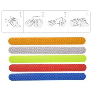 6Pcs Reflex Tape Reflective St