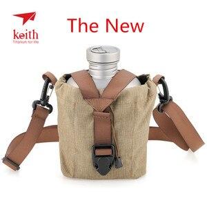 Image 1 - Keith titanyum 1100ml spor su ısıtıcısı ve 700ml titanyum yemek kabı kamp ordu su şişeleri su ocak Ultralight Ti3060
