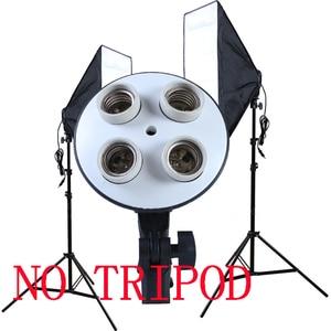 Image 2 - Photo Studio 50*70cm Softbox E27 4 Lamp Holder 100 240v Lighting Soft Box Photography Kit