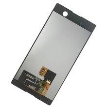 Lcds para sony xperia m5 dupla e5603 e5606 e5653 display lcd de toque digitador da tela substituição montagem alta qualidade n