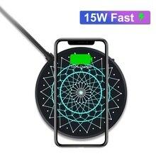 NILLKIN kablosuz şarj cihazı 15W Max Samsung S20 Ultra Xiaomi Mi 9 2.5h tam şarj için iPhone 11 XS XR samsung not 10