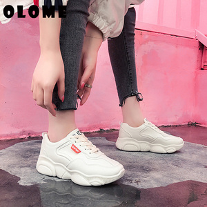 Image 5 - Womens Sneakers New Korean Version With Breathable Bear Bottom old Shoes Super Fire Sports Shoes Female Small White Shoes Women