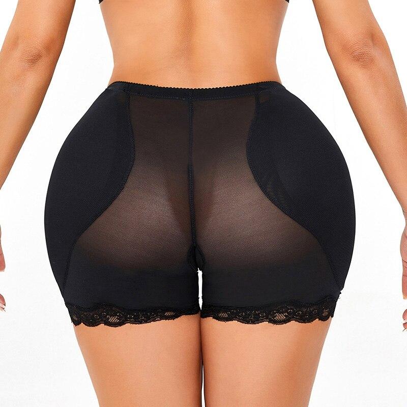 Для женщин трусы с низкой талией, нижнее белье, губки для придания формы телу бедра живот тонкий поддельный зад, защитные брюки Корректирующ...