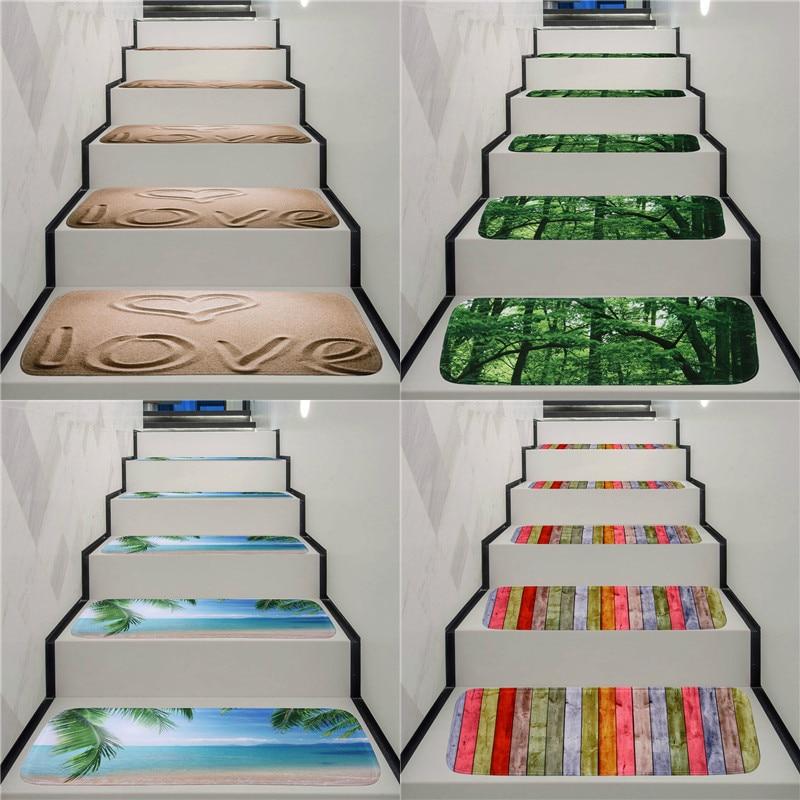 Washable Anti Skid Stair Treads Stair Carpet Rug Anti Fouling   Rubber Stair Nosing For Carpet   Metal Stair   Aluminium Stair   Wood   Anti Slip   Non Slip