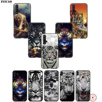 IYICAO abstracto tigre blanco suave funda para Huawei Honor 20 10 9X9 8C 8X8 7X 7C 7A 6A Nova 5i 4 3i 2 2i Lite Pro 20 nota 10