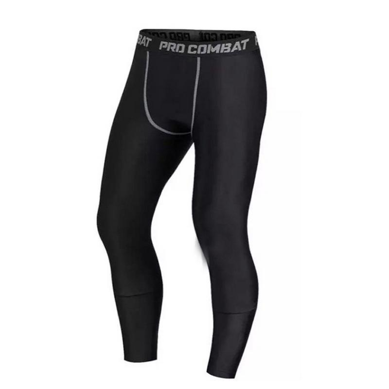 2020 New 1PC men compression pants gym fitness sports running leggings tights Quick-drying  fit training jogging