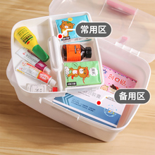Multilayer First Aid Kit Storage Box Portable Plastic Emergency Kits Medicine Container For Outdoor Travel Survival Household