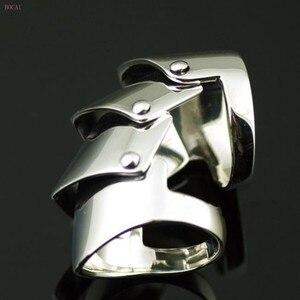 2020 Новое 925 пробы Серебряное Вивиан четыре кольцо Броня для мужчин Стильное мужское серебряное кольцо