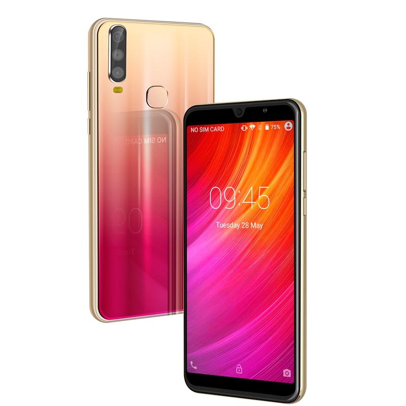 "XGODY 6"" 18:9 3G Smartphone A70 Android 8.1 Dual SIM Celular 1GB+4GB MTK6580 Quad Core GPS WiFi 5MP Camera 2800mAh Mobile Phone"