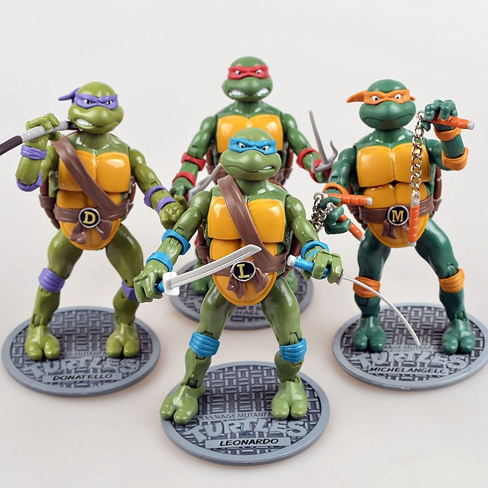 Animation Game Mobile Film Version Manhole Cover Ninja Garage Kit Weapons Raphael Joints Classic Turtle