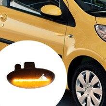 LED Dynamic Turn Signal Side Marker Light Sequential Blinker Light For Peugeot 307 206 207 407 107 607 For Citroen C1 C2 C3 C5 led dynamic turn signal side marker light sequential blinker light for peugeot 307 206 207 407 107 607 for citroen c1 c2 c3 c5