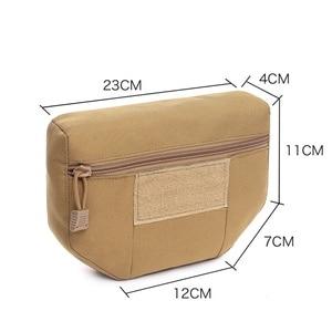 Мути-функциональный кобура для пистолета сумка Принадлежности для охоты Пакет Тактический Подсумок с креплением MOLLE Admin журнал сумка для хранения мешков