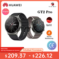 HUAWEI Uhr GT 2 GT2 Pro SmartWatch 14 Tage Batterie Lebensdauer GPS Drahtlose Lade Kirin A1 GT2 Pro Auf Lager ver راقب Globale Version
