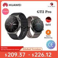 HUAWEI-reloj inteligente GT 2 GT2 Pro, dispositivo con batería de 14 días de duración, GPS, carga inalámbrica, Kirin A1, GT2 Pro, versión Global