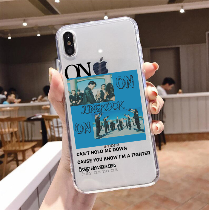 Bangtan Boys Phone Case for iPhone XS, X, 7 Plus, XR, XM, & 11 pro