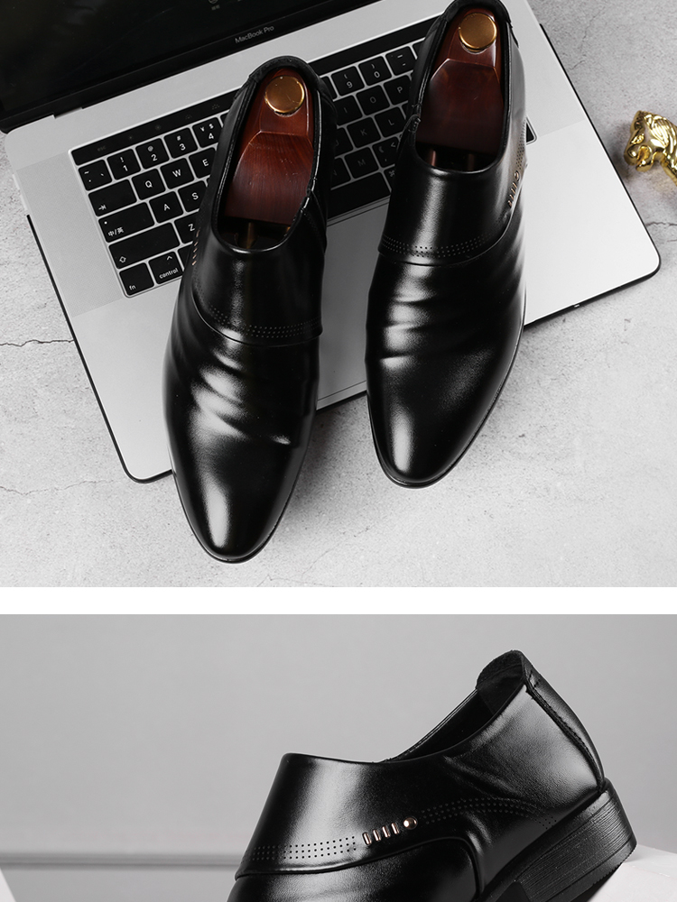 Oxfords Business and Wedding Leather Shoe 17