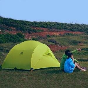 Image 5 - 3f ul gear 3 인 3/4 시즌 15d 캠핑 텐트 대형 방수 야외 초경량 하이킹 배낭 사냥 텐트