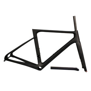 Image 2 - Carbon Frame Disc Brake Road Bicycle Frame THRUST 2019 Racing Bike Frame Carbon Thru Axle Rear Derailleur 142x12 Front 100x12mm