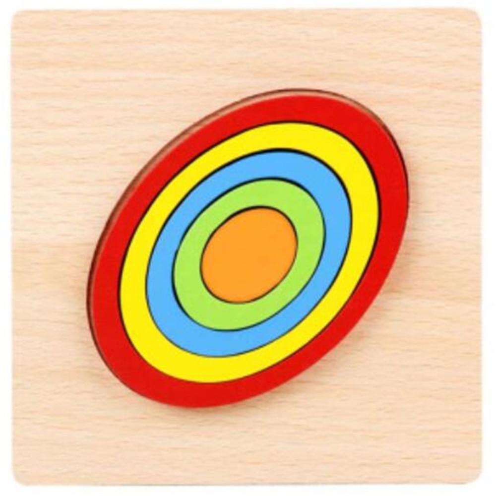 Montessori Cartoon Animal Educational Wooden Beaded Geometry Digital Clock Puzzles Gadgets Matching Clock Toy For Children 16