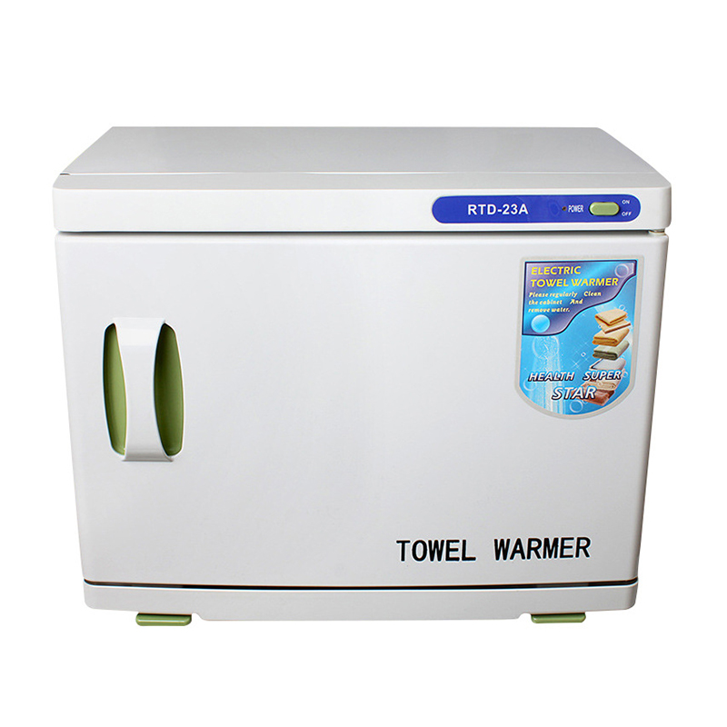 23L Towel Warmer Towel Disinfection Cabinet Large Capacity Single Layer Spa Hall Hair Salon Disinfection Cabinet RTD-23A