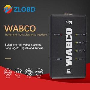 Image 1 - Rosyjski magazyn WABCO zestaw diagnostyczny (WDI) WABCO przyczepa i ciężarówka interfejs diagnostyczny wysyłka za darmo