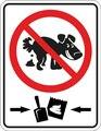 Оловянная табличка, пожалуйста, обратите внимание, что не содержит собачьего укуса, запрещается кластеры, наружный знак