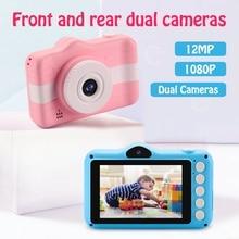 Children's Camera Instax Digital Kids Camera 12MP 3.5 Inch Screen 1080P Photo Video Camera for Children Gifts
