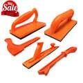 Деревообрабатывающие инструменты 5 комплектов пластиковых столешниц толкатель блок и палка посылка для использования на роутерах, jointers и н...