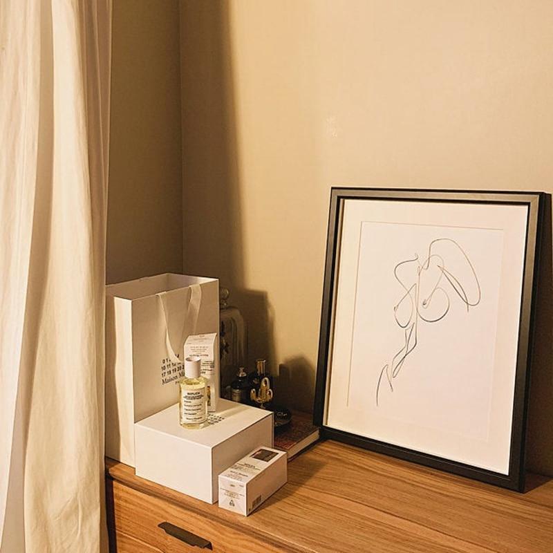 Female Line Art Print
