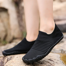 Water-Shoes Surfing Non-Slip Quick-Drying Swimming Outdoor Summer Women Black Big-Size