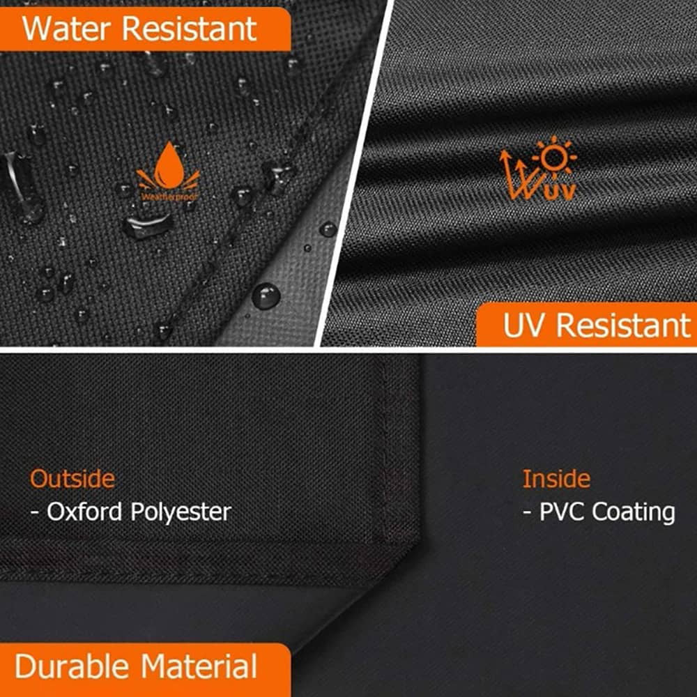 Ha2f85d8561574d09b25a34734ca466feL - Round Pool Cover Foldable Black Bathtub Cover 210D Oxford Anti-UV Protector Spa Tub Dust Waterproof Cover Swimming Accessories