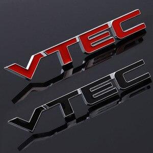 Metal Car Sticker Emblem Badge stickers Decal for Honda CIVIC CRV CITY cb400 VTEC vfr800 cb750 crf250X cbr250rr styling stickers(China)
