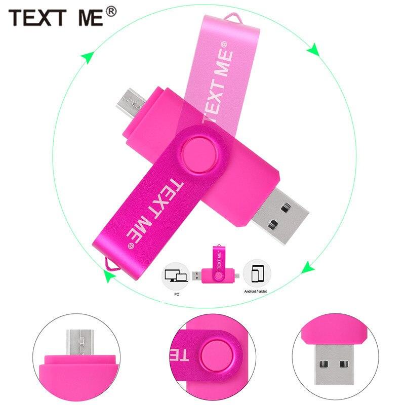 OTG  Usb Flash Drives Pen Drive 32gb Pendrive Usb Stick 128gb 4gb 8gb 16gb 64gb Computer Phone Android Dedicated